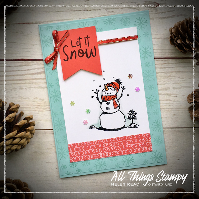 Snowman Season Stampin Up
