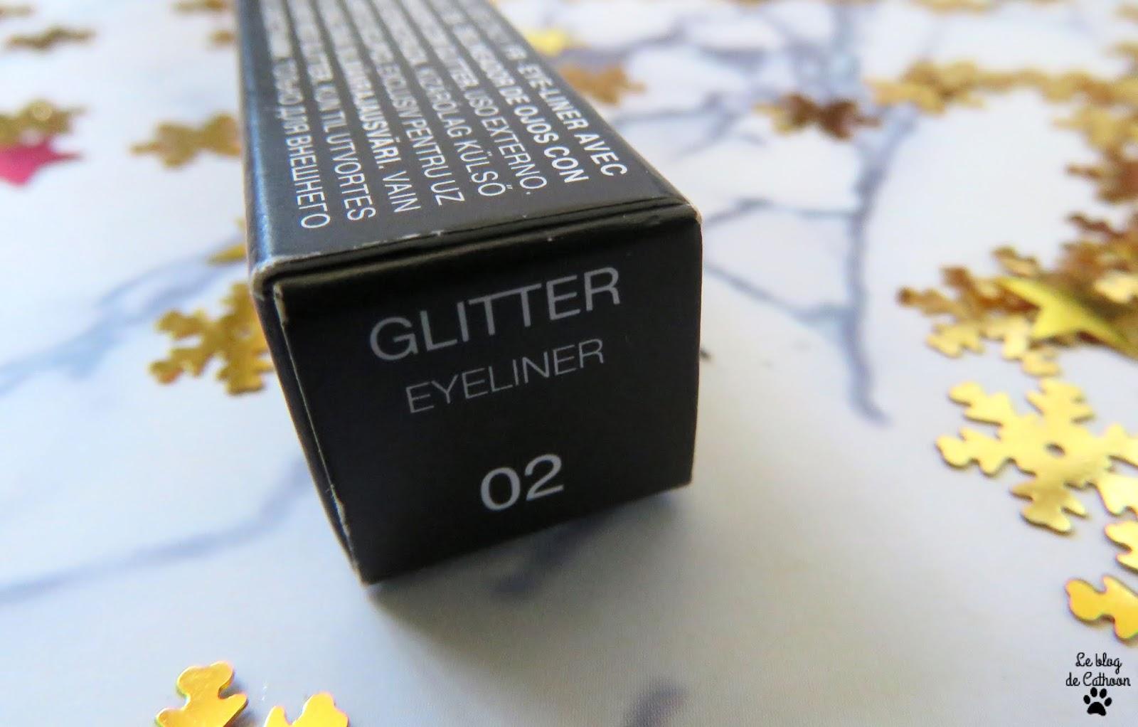 Glitter Eyeliner - 02 Silver - Kiko