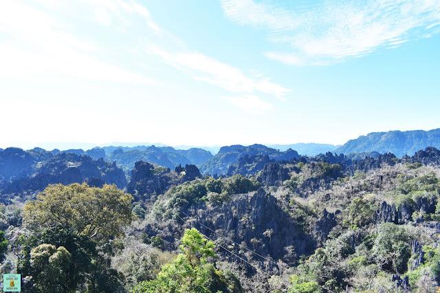 Limestone Peaks Lookout, loop de Thakhek