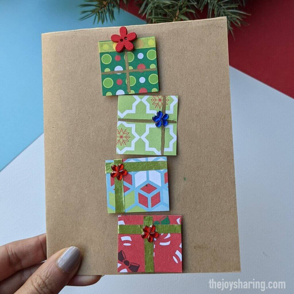 Easy handmade card for children
