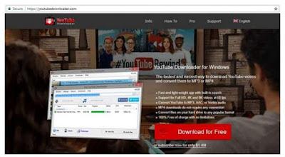 Memakai Aplikasi YouTube Downloader