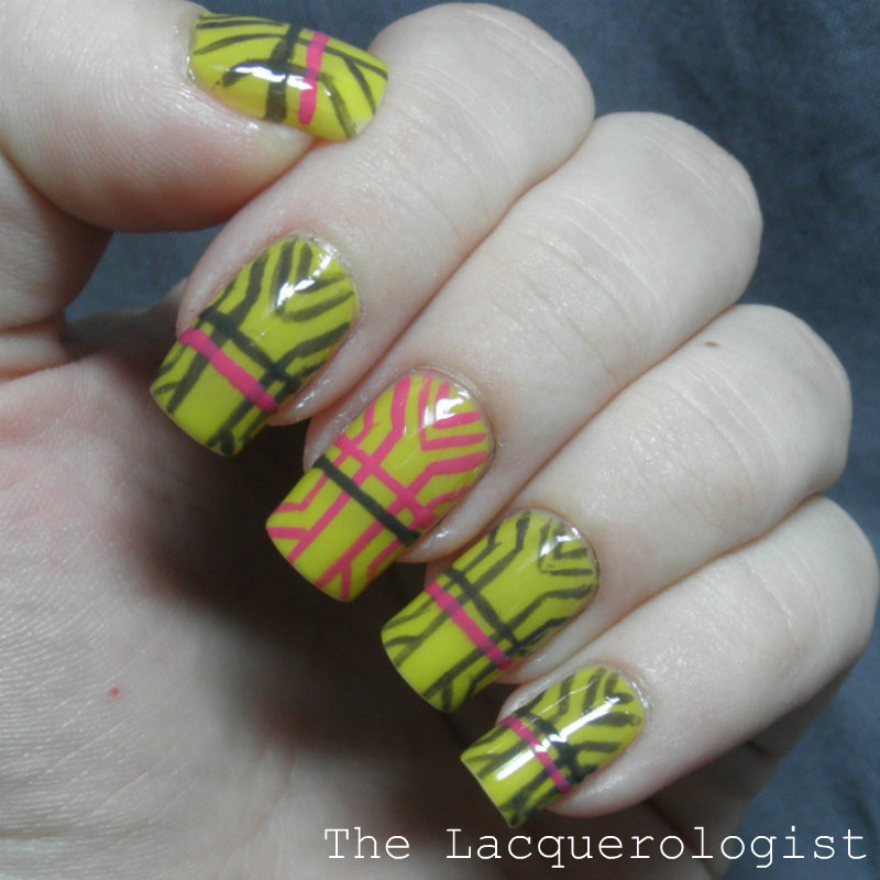 Art Deco Nail Art With Priti Nyc Shades Casual Contrast