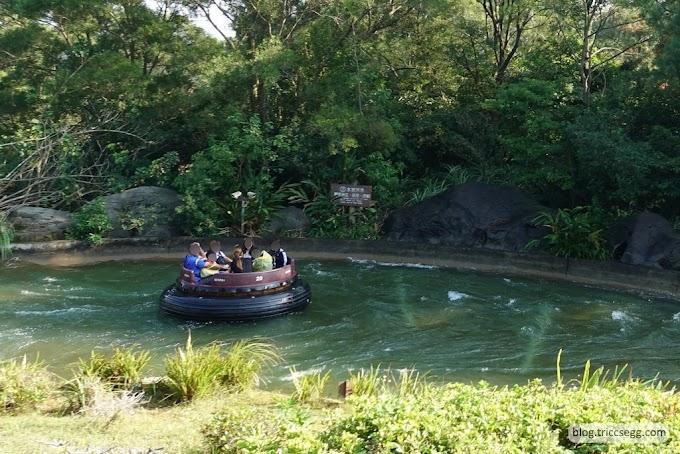 新竹關西鎮 六福村主題樂園之美國大西部-六福村裡最大的遊樂區。