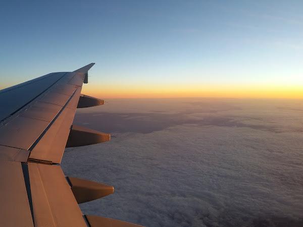 Pesawat Pertama Gue