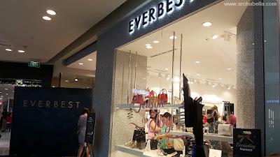 Gerai EVERBEST di Paragon Mall Semarang (Dok:pri)