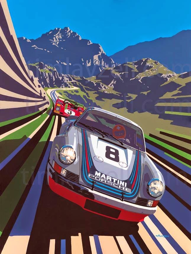 Racing Car Art