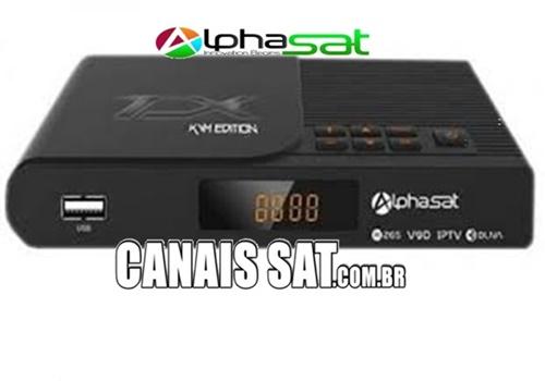 Alphasat TX Atualização V13.01.26.S76 - 27/01/2021