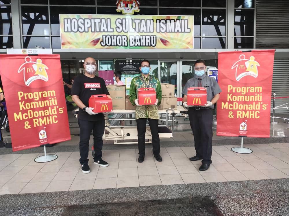#KITABOLEH! McDonald's Malaysia Taja Makanan Bagi Petugas Kesihatan Hospital