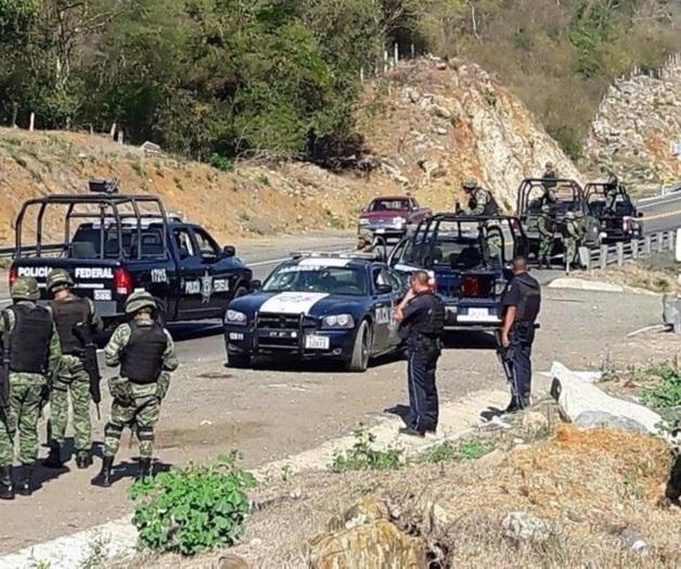 Federales son emboscados en Guerrero; hay dos oficiales heridos