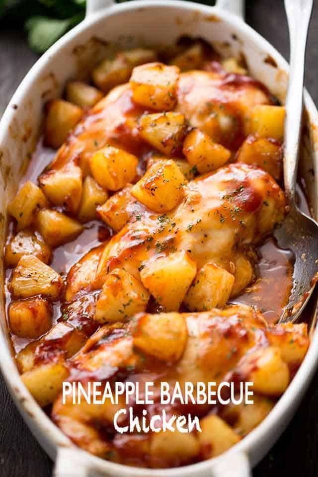 Pineapple Barbecue Chicken Recipe