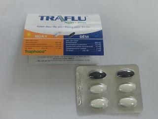 Thuốc cảm cúm Traflu ngày- đêm của Traphaco