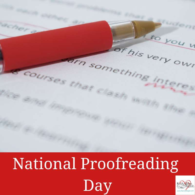 National Proofreading Day Wishes Photos