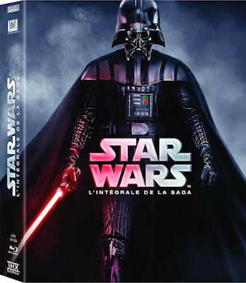 Star Wars the Complete Saga on Blu-ray Disc