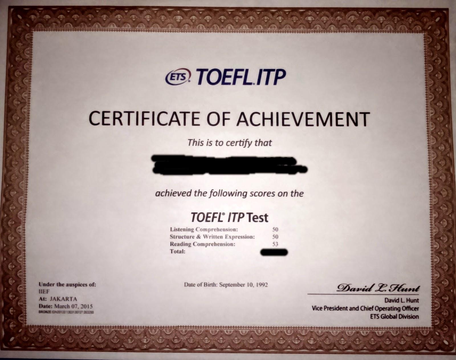 How To Get A Toefl Score 500 Coretan Warna Langkah