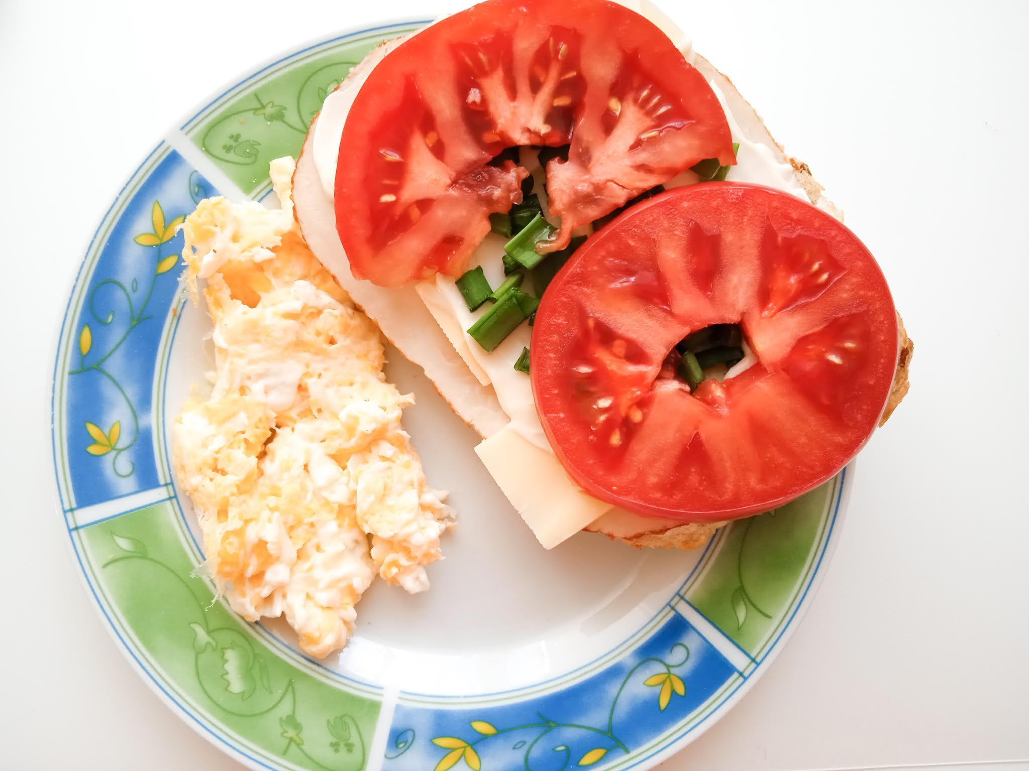 drugie śniadanie wiosenne