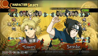 Naruto Ultimate Ninja Storm Mugen  Para PC 2020