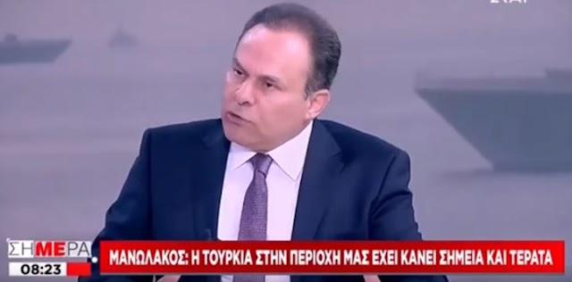 Αντγος ε.α. Ν. Μανωλάκος: «Η Τουρκία έχει κάνει σημεία και τέρατα» (ΒΙΝΤΕΟ)