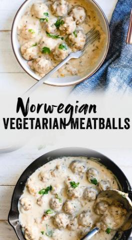 Norwegian Vegetarian Meatballs