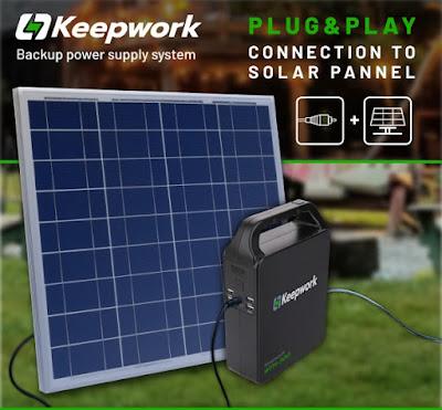 KeepWork Backup Power Supply System
