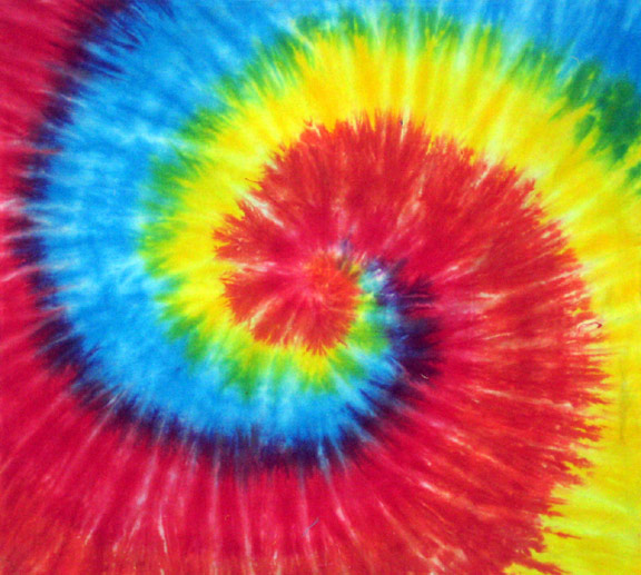 about tie dye wall - photo #28