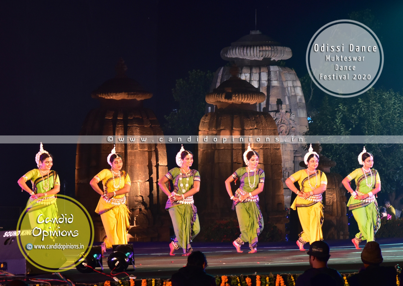 Odissi Dance at Mukteswar Dance Festival 2020, Bhubaneswar
