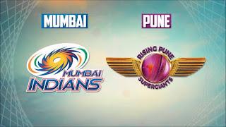 Rising Pune Supergiants (RPS) v (MI) Mumbai Indians