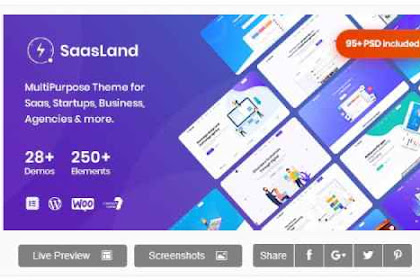 SaasLand v2.0.6 - MultiPurpose Theme for Saas & Startup