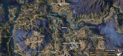 Far Cry 5, Shrines Locations, Faith's Region, Moonflower Trailer Park, Shrine # 2