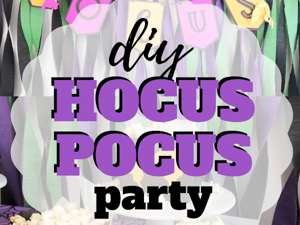 There All Just a Bunch of Hocus Pocus Party Ideas