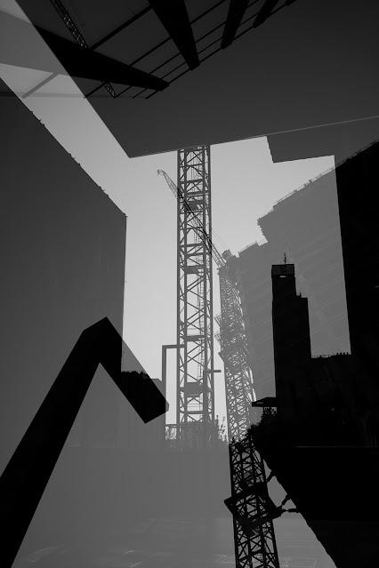 Czarne królestwo - Katowice - Nadfotograficzny obraz miasta. fot. Łukasz Cyrus, 2020.