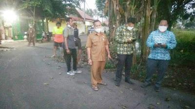 Pemdes Laksana Lakukan Persiapan Agenda Penyerahan Bantuan Rumah Siap Huni Dari Koperasi Syariah Benteng Mikro Indonesia