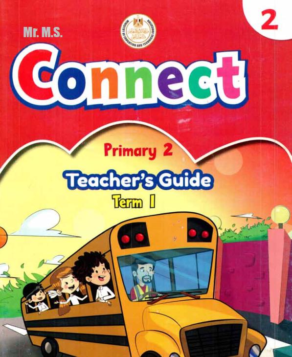 تحميل دليل المعلم  الصف الثانى الإبتدائى الترم الأول Teacher's guide connect 2