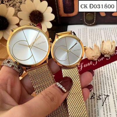 Đồng hồ cặp đôi CK Đ031800