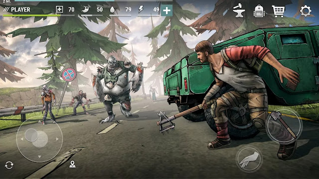 Dark days zombie survival mod apk free download