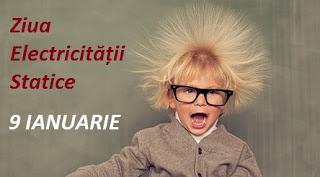 9 ianuarie: Ziua Electricității Statice
