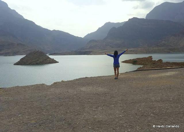 Wadi Daqyah Dam in Oman