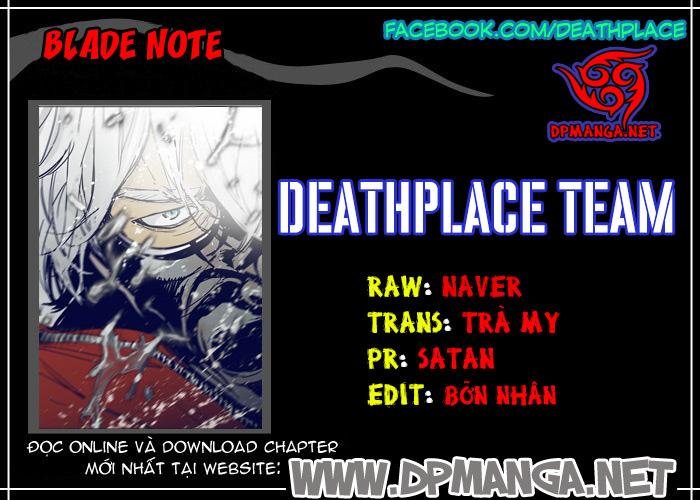 Blade Notes