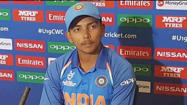 बैन : क्रिकेट मेरी जिंदगी है, मजबूती से वापसी करूंगा : पृथ्वी शॉ