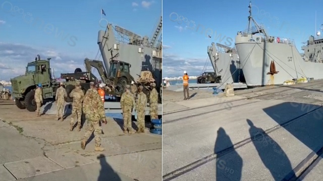 The first American troops arrive in Albania a week before the elections for Defender Europe 21