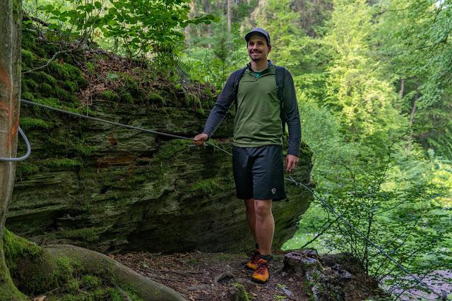 Saar-Hunsrück-Steig Etappe 20 Von Mörsdorf nach Kastellaun  Hängebrücke Geierlay Wandern im Hunsrück Traumschleifen-Hunsrück 12