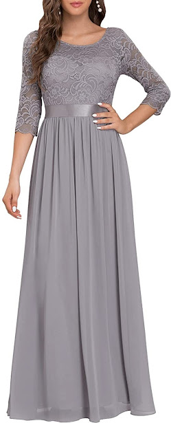 Best Quality Grey Mother of The Groom Dresses