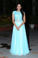 Pujita Ponnada in transparent sky blue dress at Darshakudu pre release ~  Exclusive Celebrities Galleries 120.JPG