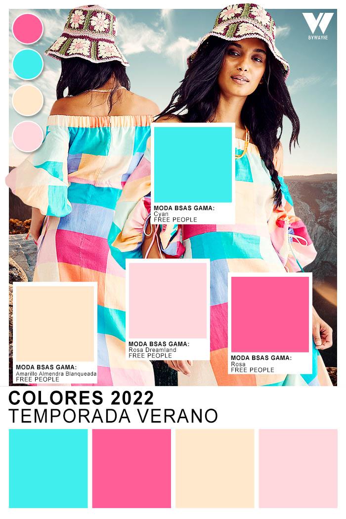 moda colores primavera verano 2022