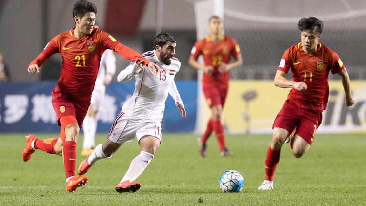 تقرير مباراة سوريا ضد  الصين تصفيات كأس اسيا