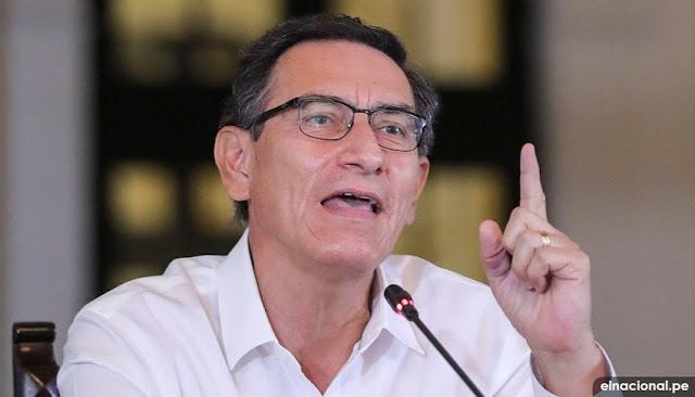 Martín Vizcarra: Lucha contra el coronavirus en el país nos compromete a todos