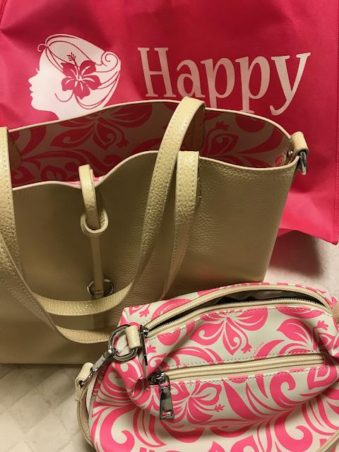 Happy Wahineのバッグの写真