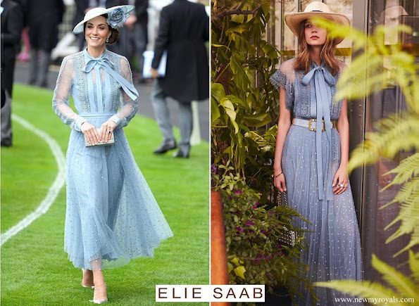 Kate Middleton wore Elie Saab dress from Resort 2019 Fashion Show Collection