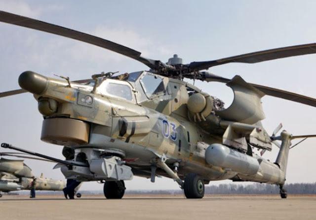 Mil Mi-28UB specs