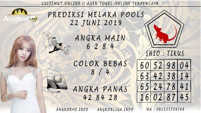 PREDIKSI MELAKA POOLS 22 JUNI 2019