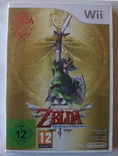 The Legend Of Zelda - Skyward Sword - Caja plástico delante
